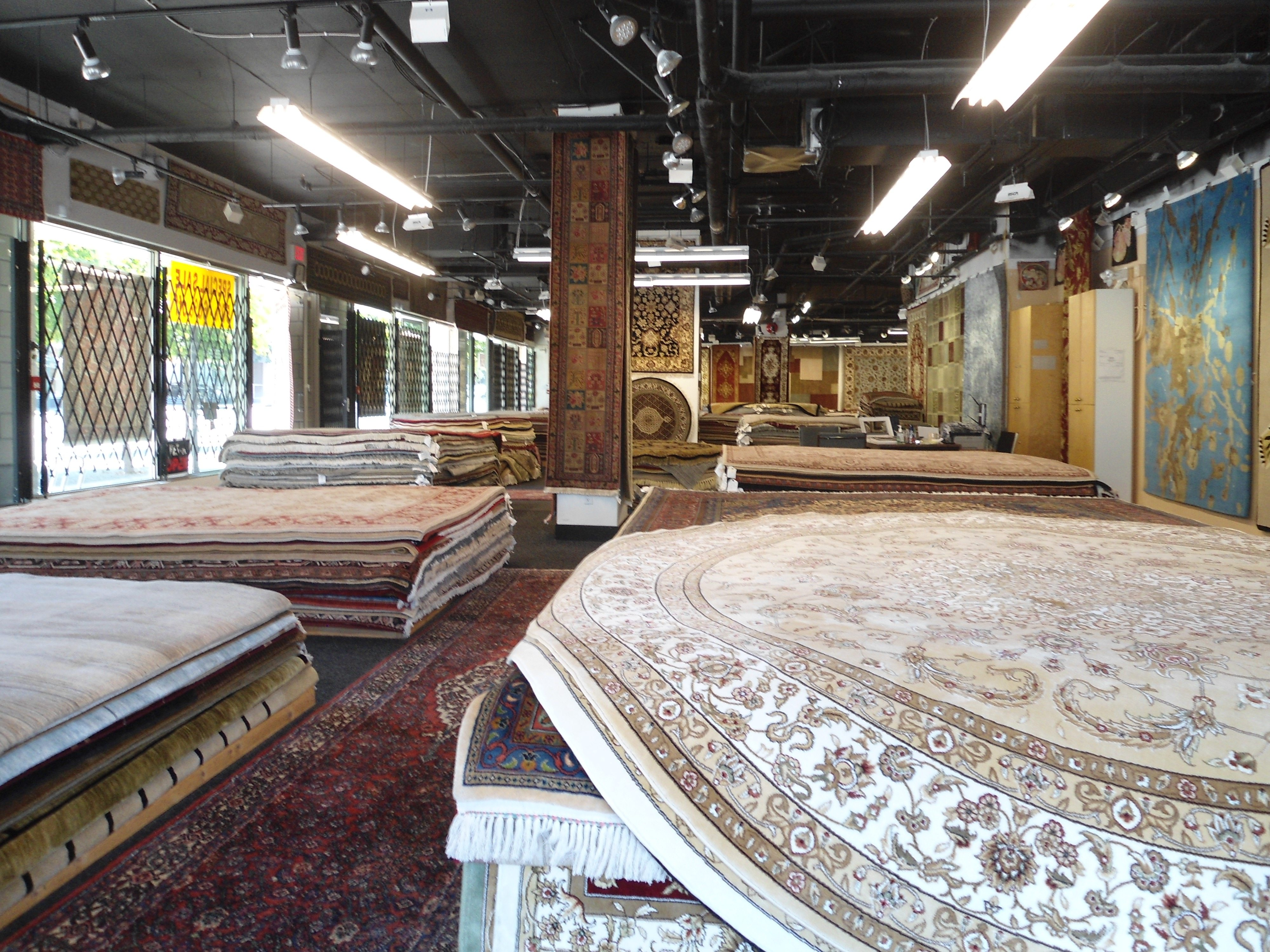 Vancouver Rugs Store with large selection of rug inventory