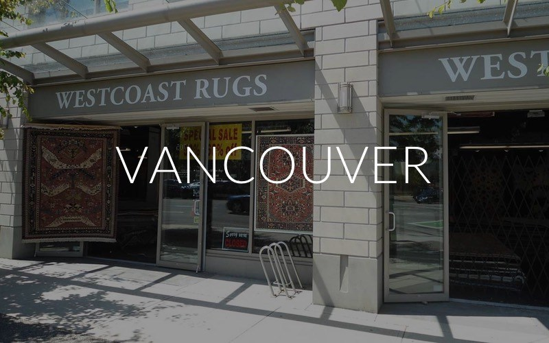 Vancouver Kitsilano Rugs Store on Burrard