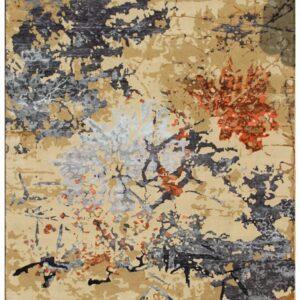 Area rug modern patterns bonsai model