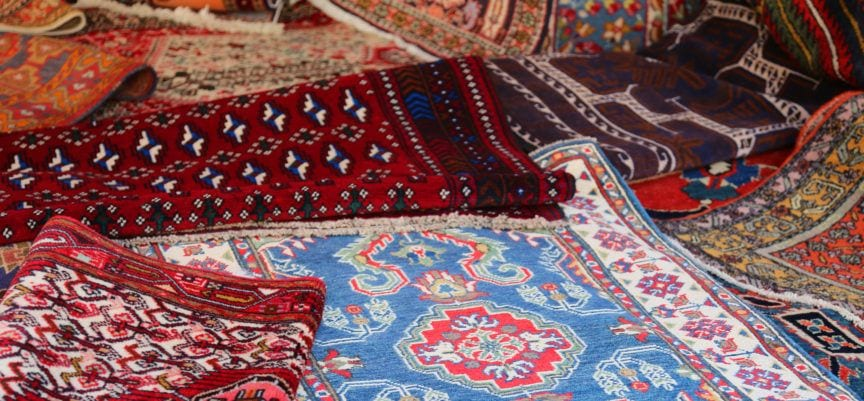 Persian rug features